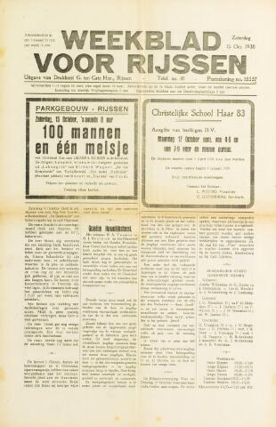 Weekblad voor Rijssen 1938-10-15