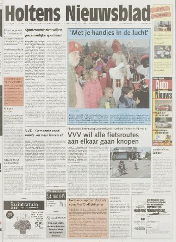Holtens Nieuwsblad 2001-11-29