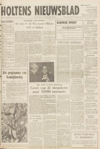 Holtens Nieuwsblad 1972-04-28