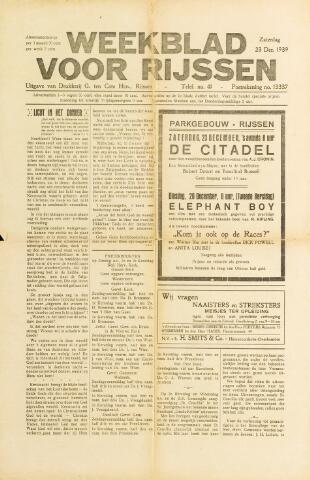 Weekblad voor Rijssen 1939-12-23