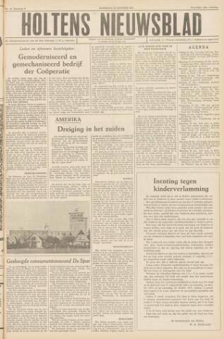 Holtens Nieuwsblad 1957-10-12
