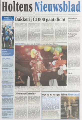 Holtens Nieuwsblad 2009-11-17