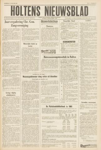 Holtens Nieuwsblad 1962-01-13
