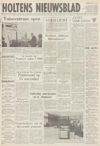 Holtens Nieuwsblad 1974-11-08