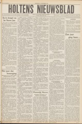 Holtens Nieuwsblad 1952-12-31