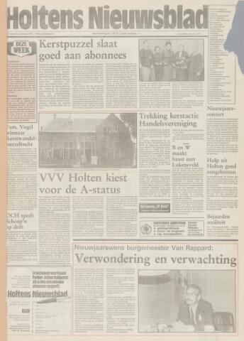 Holtens Nieuwsblad 1992-01-02