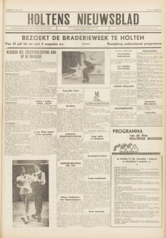Holtens Nieuwsblad 1962-07-28