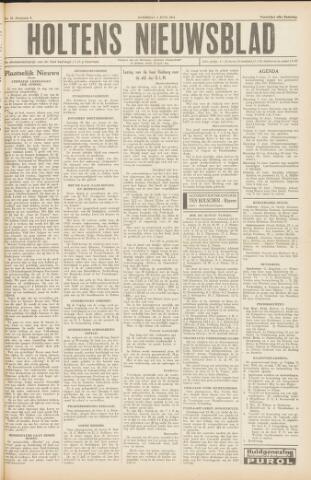 Holtens Nieuwsblad 1954-06-05