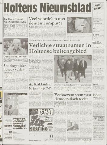 Holtens Nieuwsblad 1998-02-26