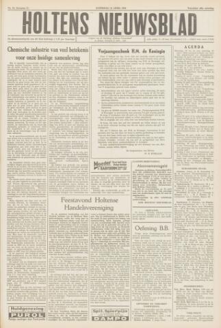 Holtens Nieuwsblad 1959-04-18
