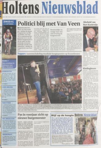 Holtens Nieuwsblad 2009-09-15