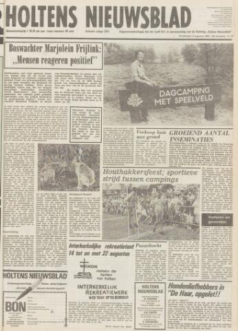 Holtens Nieuwsblad 1982-08-12
