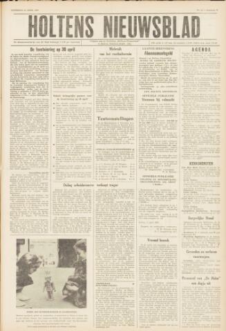 Holtens Nieuwsblad 1962-04-14