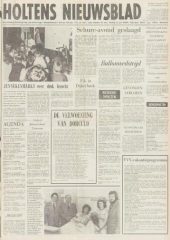 Holtens Nieuwsblad 1975-08-01