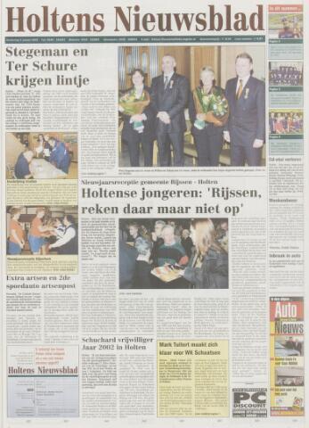 Holtens Nieuwsblad 2003-01-09