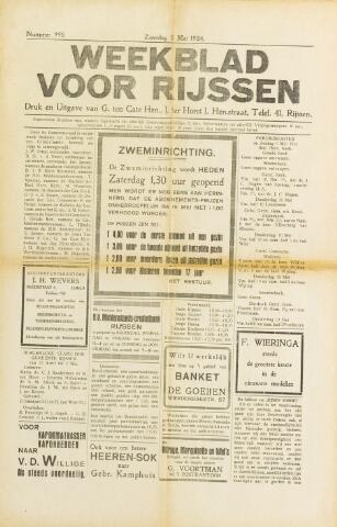 Weekblad voor Rijssen 1934-05-05