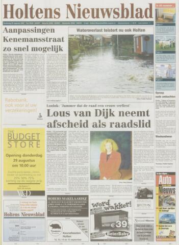 Holtens Nieuwsblad 2002-08-29