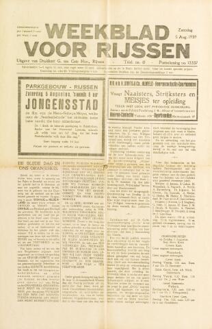 Weekblad voor Rijssen 1939-08-05