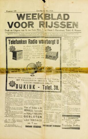 Weekblad voor Rijssen 1928-05-19