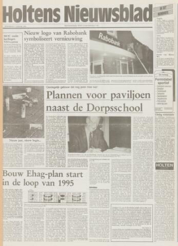 Holtens Nieuwsblad 1995-01-05