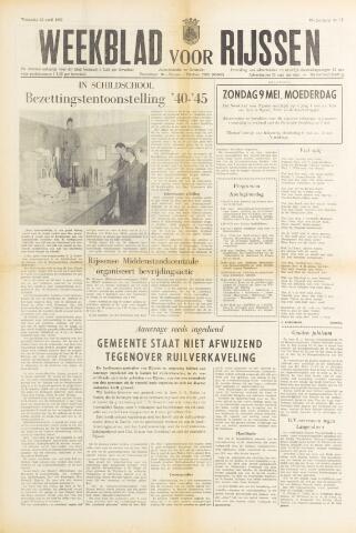 Weekblad voor Rijssen 1965-04-30