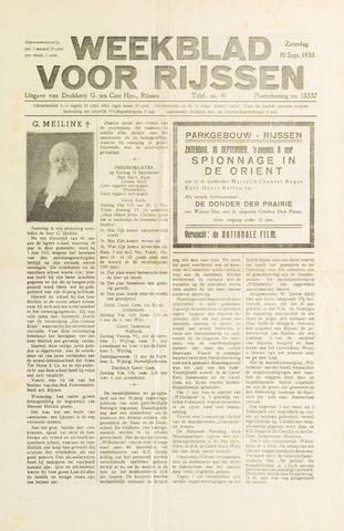 Weekblad voor Rijssen 1938-09-10