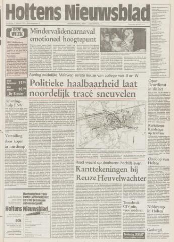Holtens Nieuwsblad 1992-02-27
