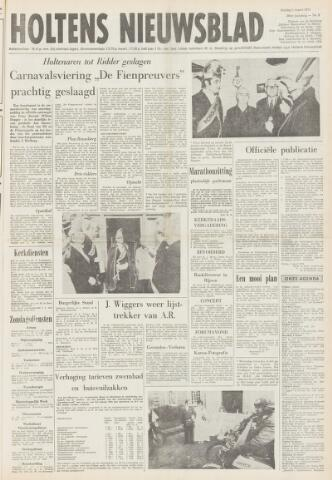 Holtens Nieuwsblad 1974-03-01