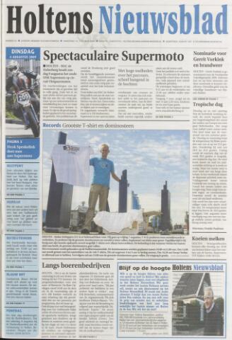 Holtens Nieuwsblad 2009-08-04
