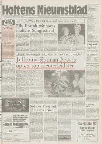 Holtens Nieuwsblad 1990-08-23