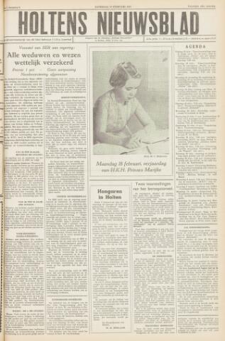 Holtens Nieuwsblad 1957-02-16