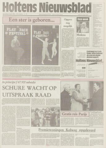 Holtens Nieuwsblad 1985-04-18