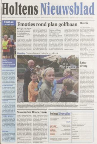 Holtens Nieuwsblad 2007-10-02