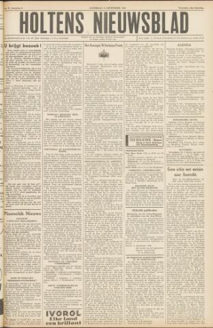 Holtens Nieuwsblad 1954-09-18