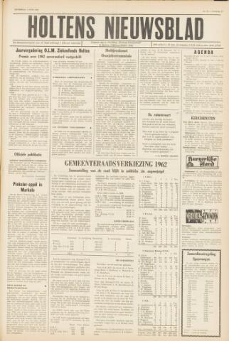 Holtens Nieuwsblad 1962-06-02