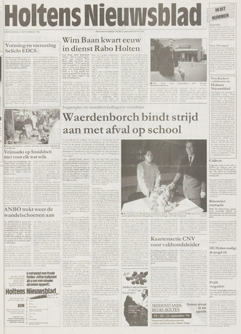 Holtens Nieuwsblad 1996-09-12