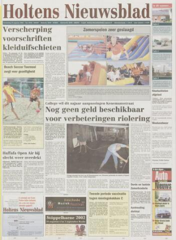 Holtens Nieuwsblad 2002-08-15