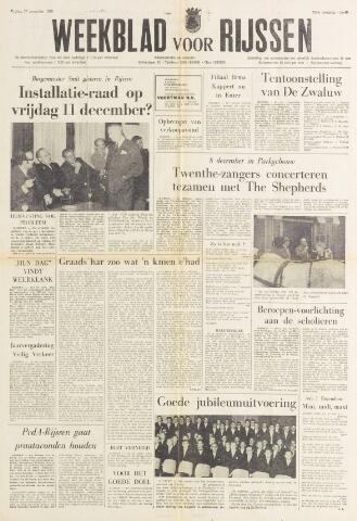 Weekblad voor Rijssen 1970-11-27