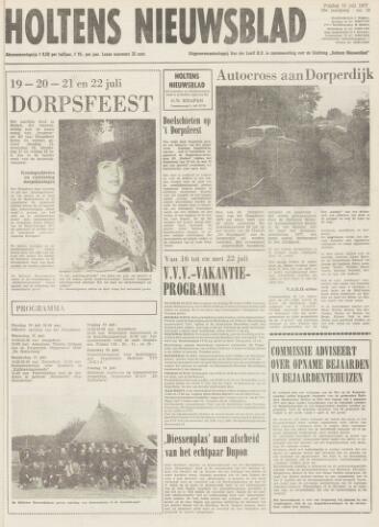 Holtens Nieuwsblad 1977-07-15