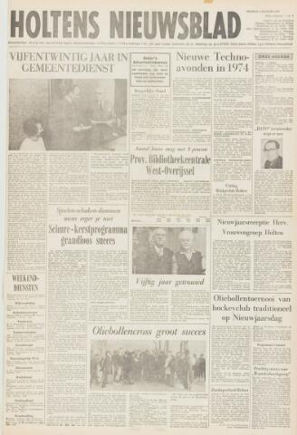 Holtens Nieuwsblad 1974-01-04
