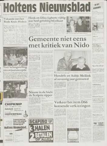 Holtens Nieuwsblad 1998-01-22