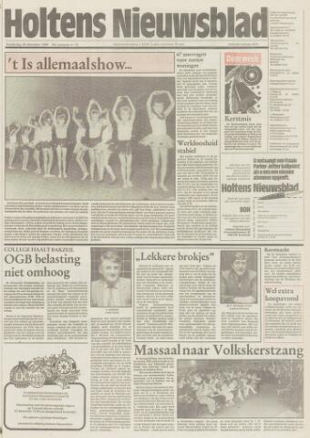 Holtens Nieuwsblad 1984-12-20