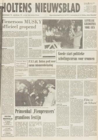 Holtens Nieuwsblad 1978-01-27