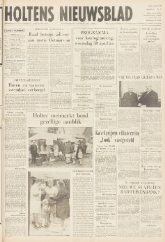 Holtens Nieuwsblad 1969-04-25