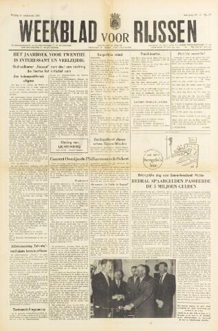 Weekblad voor Rijssen 1961-09-15