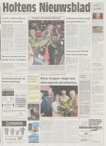 Holtens Nieuwsblad 2001-09-27