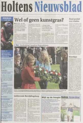 Holtens Nieuwsblad 2009-05-05