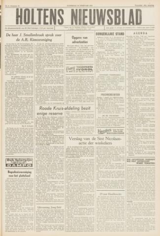 Holtens Nieuwsblad 1959-02-28