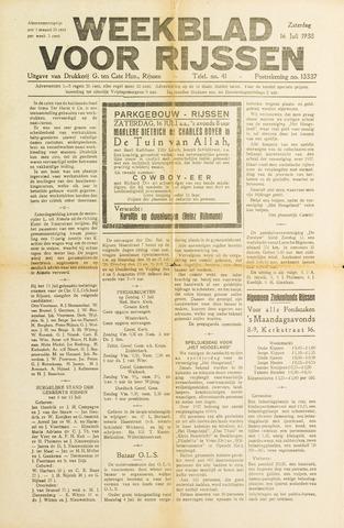 Weekblad voor Rijssen 1938-07-16