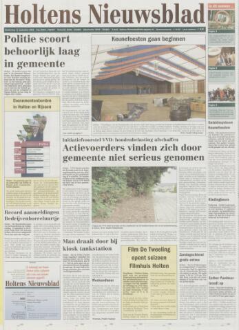 Holtens Nieuwsblad 2003-09-11
